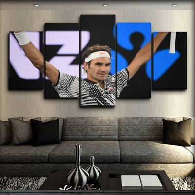 Roger Federer - 3 - Canvas Monsters