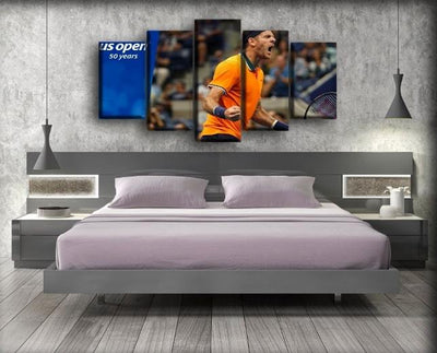 Juan Martin del Potro  - 6 - Canvas Monsters