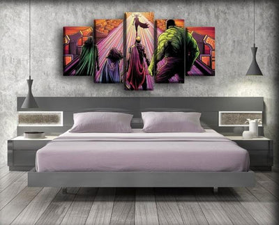 Thor - Hela Walk Away - Canvas Monsters