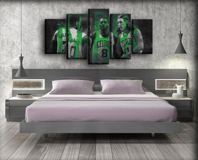 Celtics 18 - Canvas Monsters
