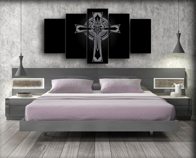 Black Sabbath - The Rock Crucifix - Canvas Monsters