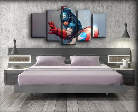 Image of Captain America - The Cartoon Version