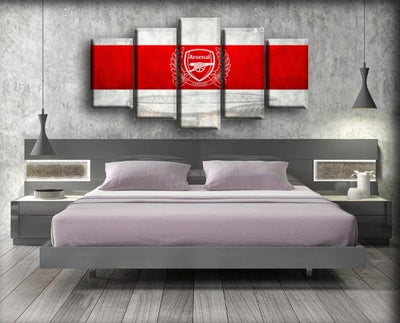 Arsenal - Wreath Forward - Canvas Monsters