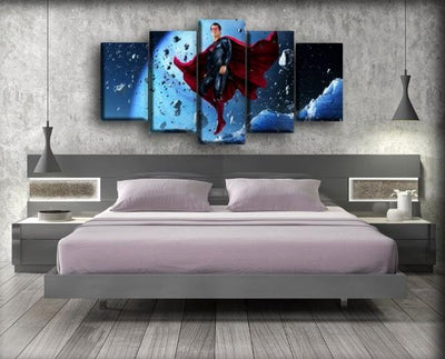 Superman - Elevating Rocks - Canvas Monsters