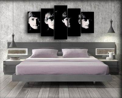 The Beatles - Silhouette - Canvas Monsters