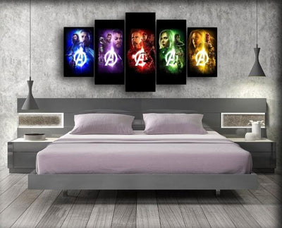 The Avengers 5 Forces - Canvas Monsters
