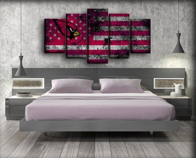 Arizona Cardinals Flag - Canvas Monsters