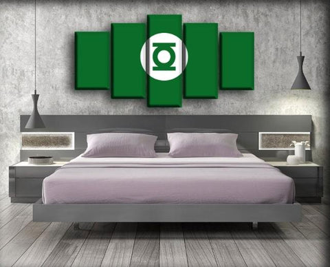 Image of Green Lantern - Classic Green Background