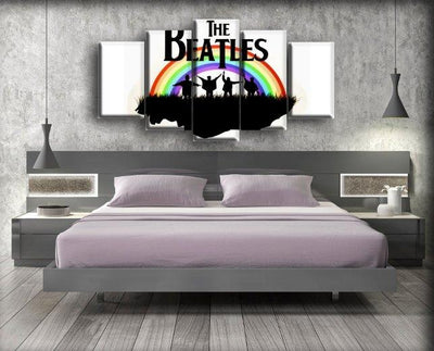 The Beatles - Help Rainbow - Canvas Monsters