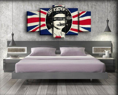 Sex Pistols - God Save The Queen - Canvas Monsters