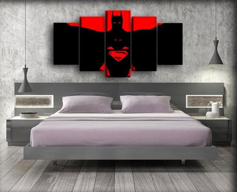 Batman - Vs Superman Red And Black
