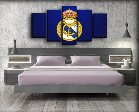 Real Madrid - Royal Blue Madness Background