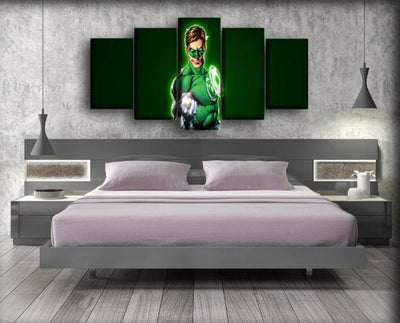 Green Lantern - Pump Up - Canvas Monsters