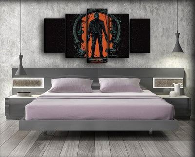 Guardians of the Galaxy  - Star Lord Art Work - Canvas Monsters