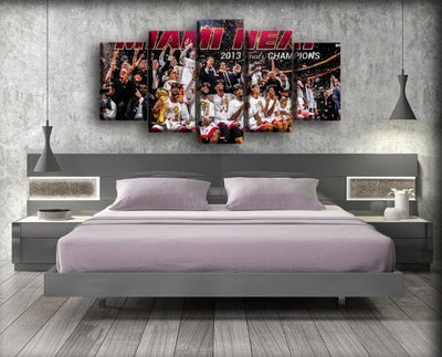 Miami Heat 6 - Canvas Monsters