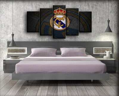 Real Madrid - King Of Europe - Canvas Monsters