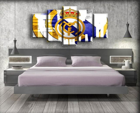 Image of Real Madrid - Strip Logo Design