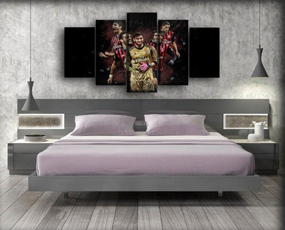 AC Milan 9 - Canvas Monsters