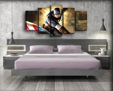 Image of Captain America - Super Soldier Game