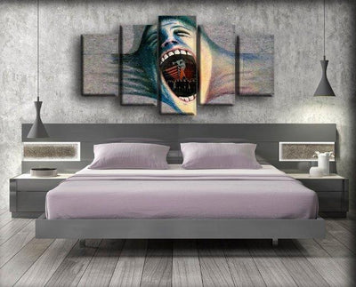 Pink Floyd - The Wall Scream - Canvas Monsters