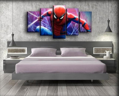 Spiderman - Ready For Action - Canvas Monsters