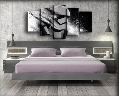 Star Wars - Turning Into Pieces - Canvas Monsters