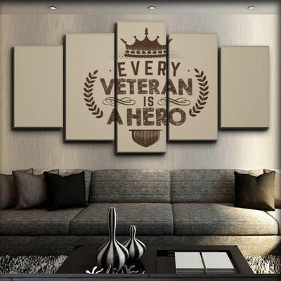 Military Veteran - Every Veteran Is A Hero