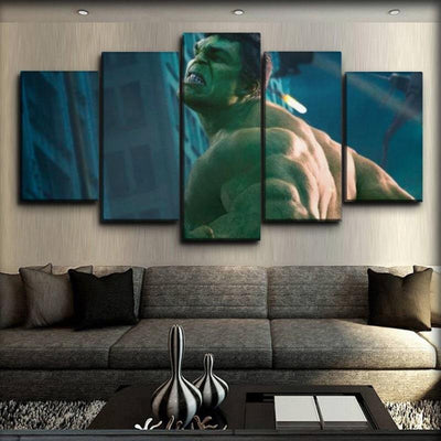 Incredible Hulk - The Avengers Scene - Canvas Monsters
