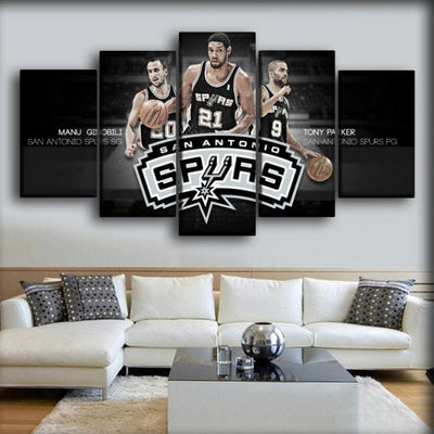 Spurs 10 - Canvas Monsters