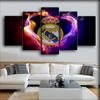 Real Madrid - Heart Of Spain - Canvas Monsters
