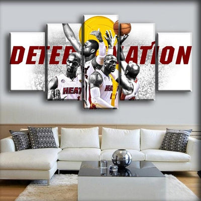 Miami Heat 1 - Canvas Monsters