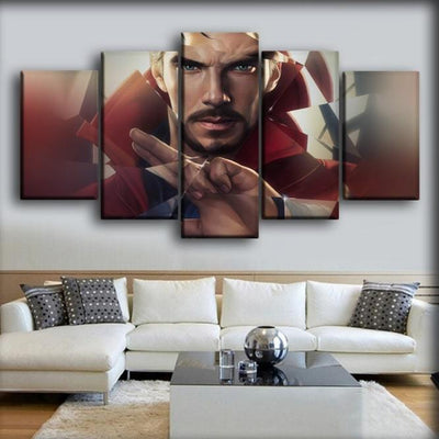 Doctor Strange - Cracked Mirror - Canvas Monsters