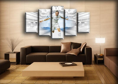 Real Madrid - Gareth Bale - Canvas Monsters