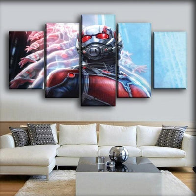 Ant man - Neon Shadows - Canvas Monsters