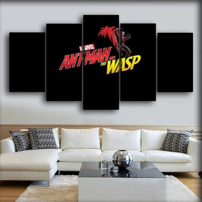 Ant man - The Second Movie Poster - Canvas Monsters