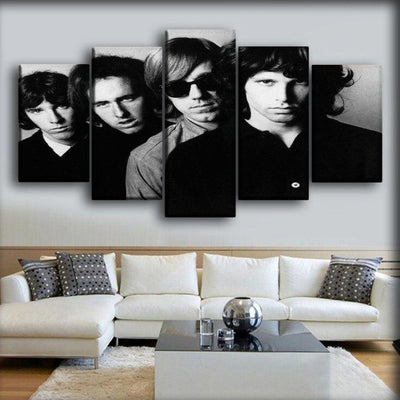The Doors - The Big Faces - Canvas Monsters
