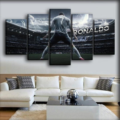 Juventus - Roanldo 7 - Canvas Monsters