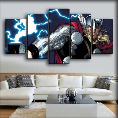 Thor - Marvel Avengers Comic - Canvas Monsters
