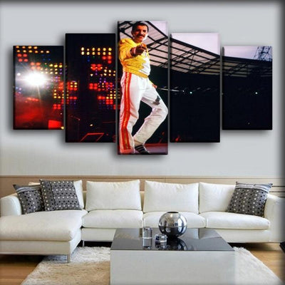 Queen - Freddie Mercury You are Awesome - Canvas Monsters