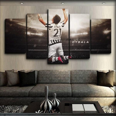 Juventus -  Dybala - Canvas Monsters