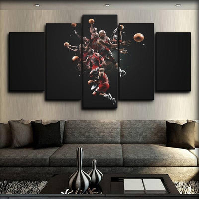 Bulls 7 - Canvas Monsters