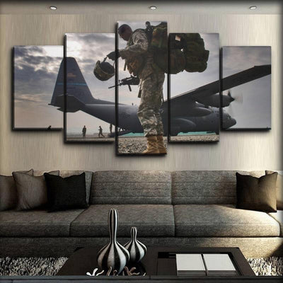 Military Veteran - The Brave Heart - Canvas Monsters