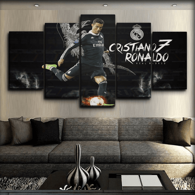 Ronaldo - The No.7 of Real - Canvas Monsters