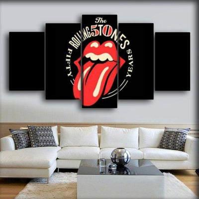 The Rolling Stone - 50 Years - Canvas Monsters
