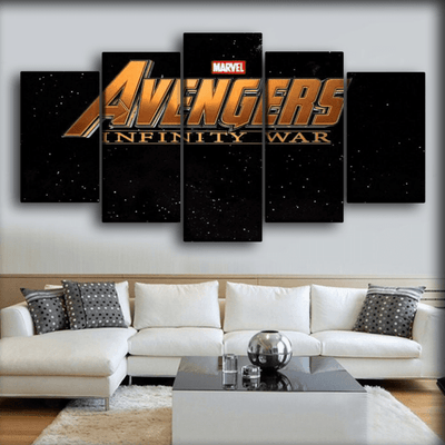 The Avengers - Galactic Logo - Canvas Monsters