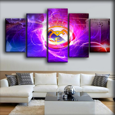 Real Madrid - European Champion - Canvas Monsters