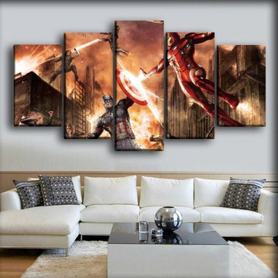 Captain America - Civil War Comic Version - Canvas Monsters
