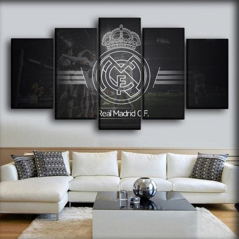 Image of Real Madrid - Black And Blanco Classic
