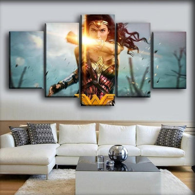 Wonder Woman - Bracelets Of Submission - Canvas Monsters