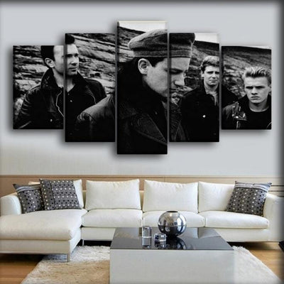 U2 - Early Years Photo - Canvas Monsters